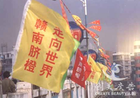 江西彩旗制作