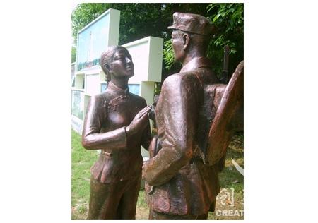 战士雕塑公司